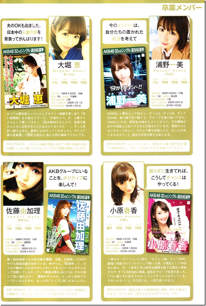 AKB48 Sousenkyo Official Guide Book (115)