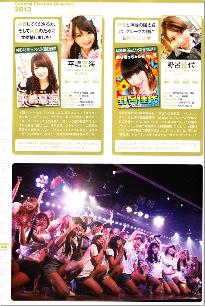 AKB48 Sousenkyo Official Guide Book (116)