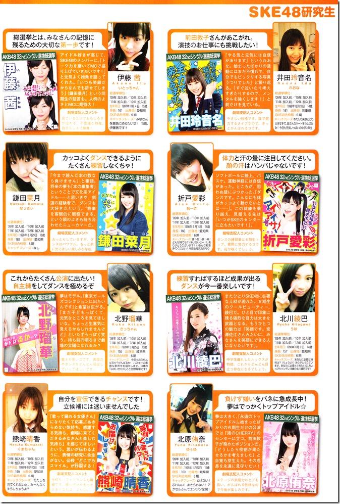AKB48 Sousenkyo Official Guide Book (121)
