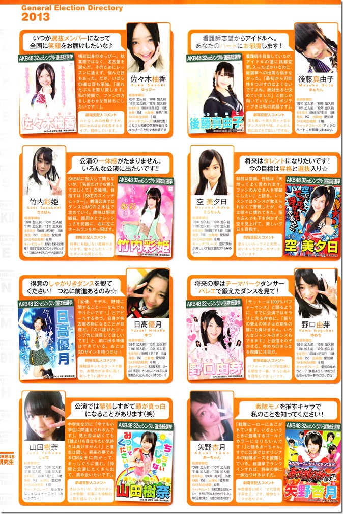 AKB48 Sousenkyo Official Guide Book (122)
