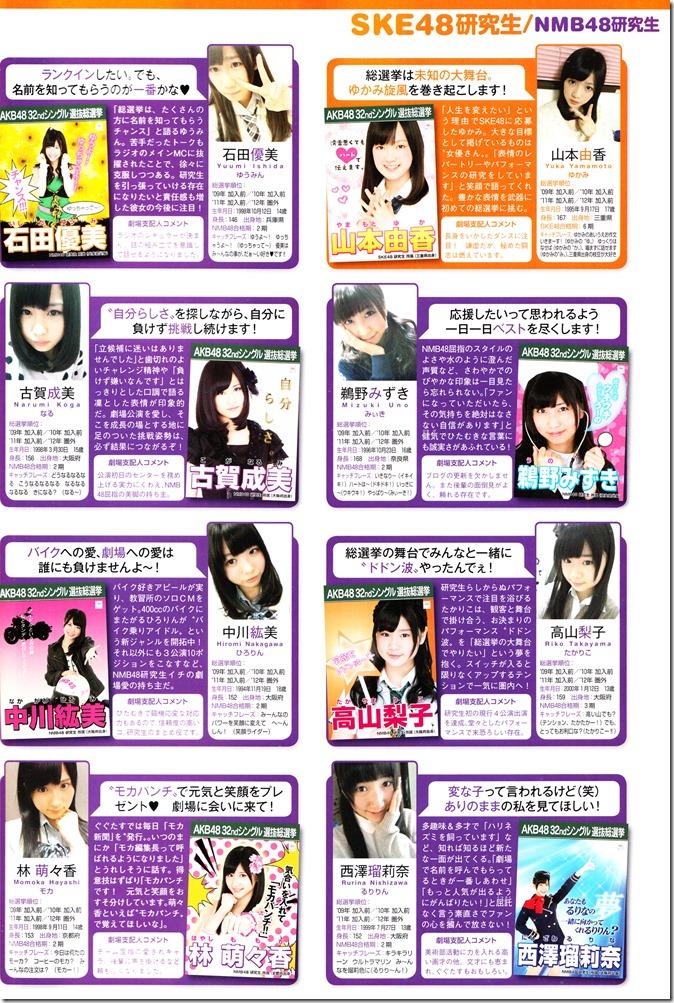 AKB48 Sousenkyo Official Guide Book (123)
