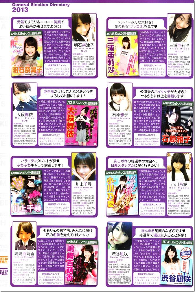 AKB48 Sousenkyo Official Guide Book (124)