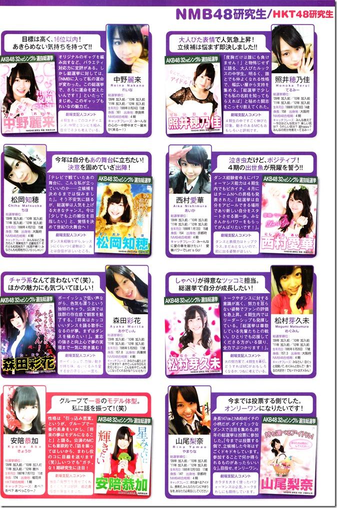 AKB48 Sousenkyo Official Guide Book (125)