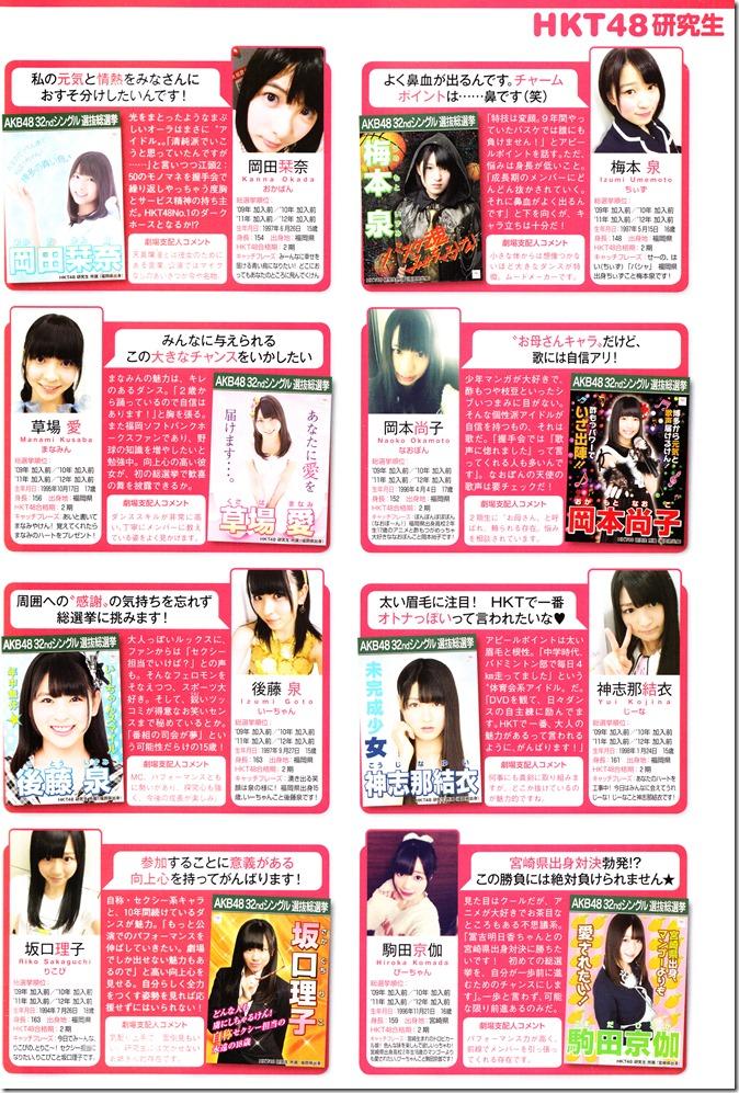 AKB48 Sousenkyo Official Guide Book (127)