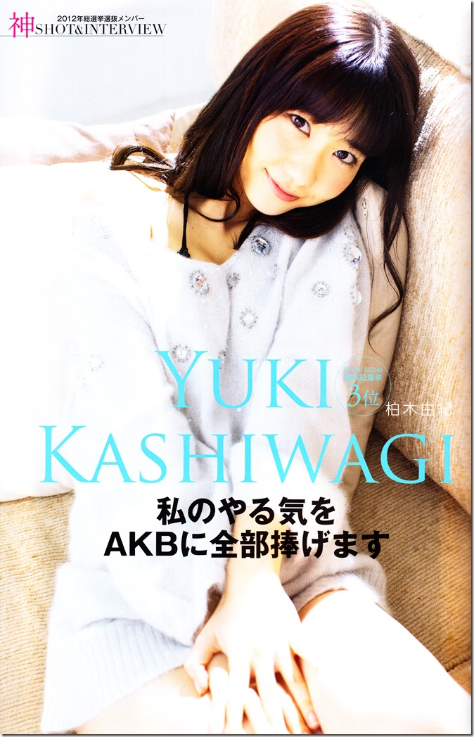 AKB48 Sousenkyo Official Guide Book (34)