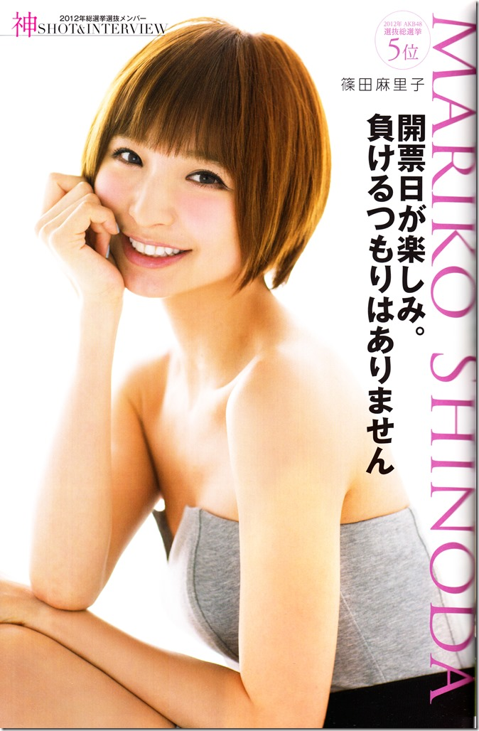 AKB48 Sousenkyo Official Guide Book (40)
