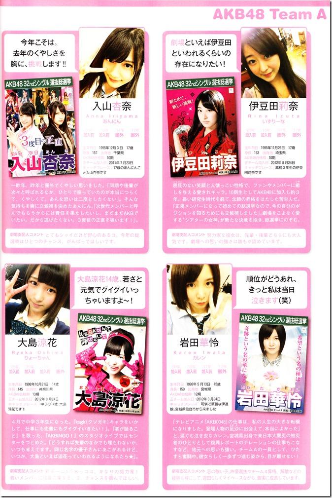 AKB48 Sousenkyo Official Guide Book (74)