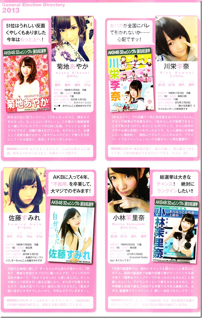 AKB48 Sousenkyo Official Guide Book (75)