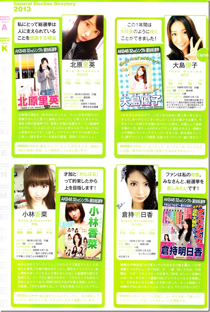 AKB48 Sousenkyo Official Guide Book (79)