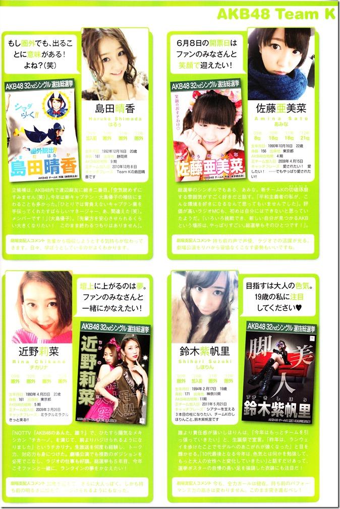 AKB48 Sousenkyo Official Guide Book (80)