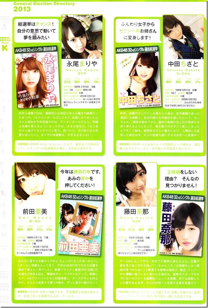 AKB48 Sousenkyo Official Guide Book (81)