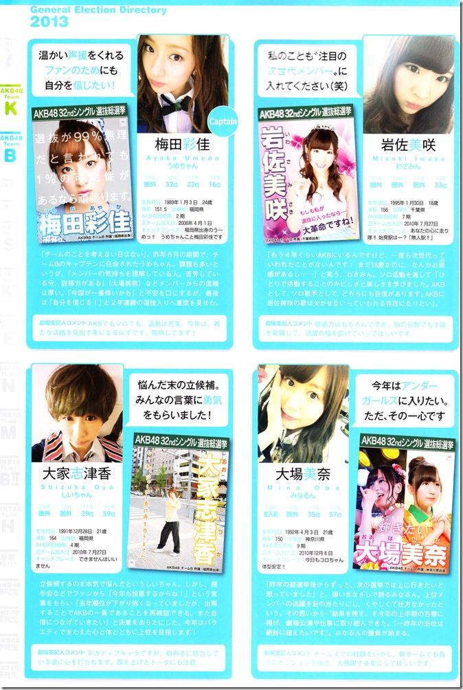 AKB48 Sousenkyo Official Guide Book (83)