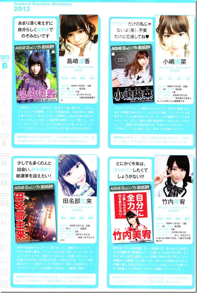 AKB48 Sousenkyo Official Guide Book (85)