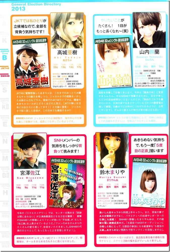 AKB48 Sousenkyo Official Guide Book (87)