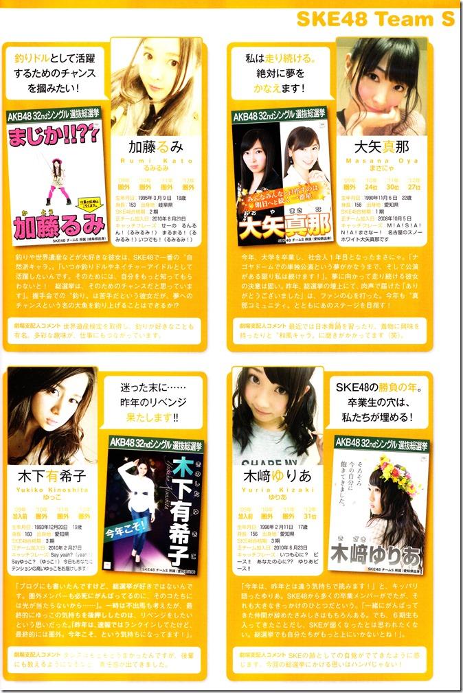 AKB48 Sousenkyo Official Guide Book (89)