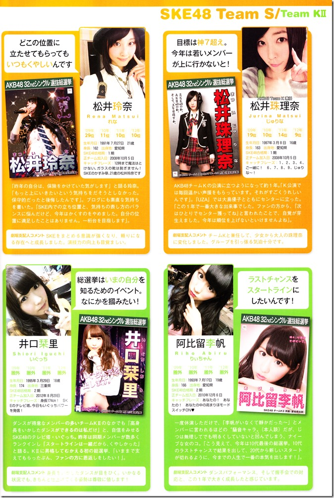 AKB48 Sousenkyo Official Guide Book (91)