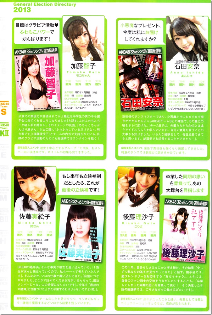 AKB48 Sousenkyo Official Guide Book (92)