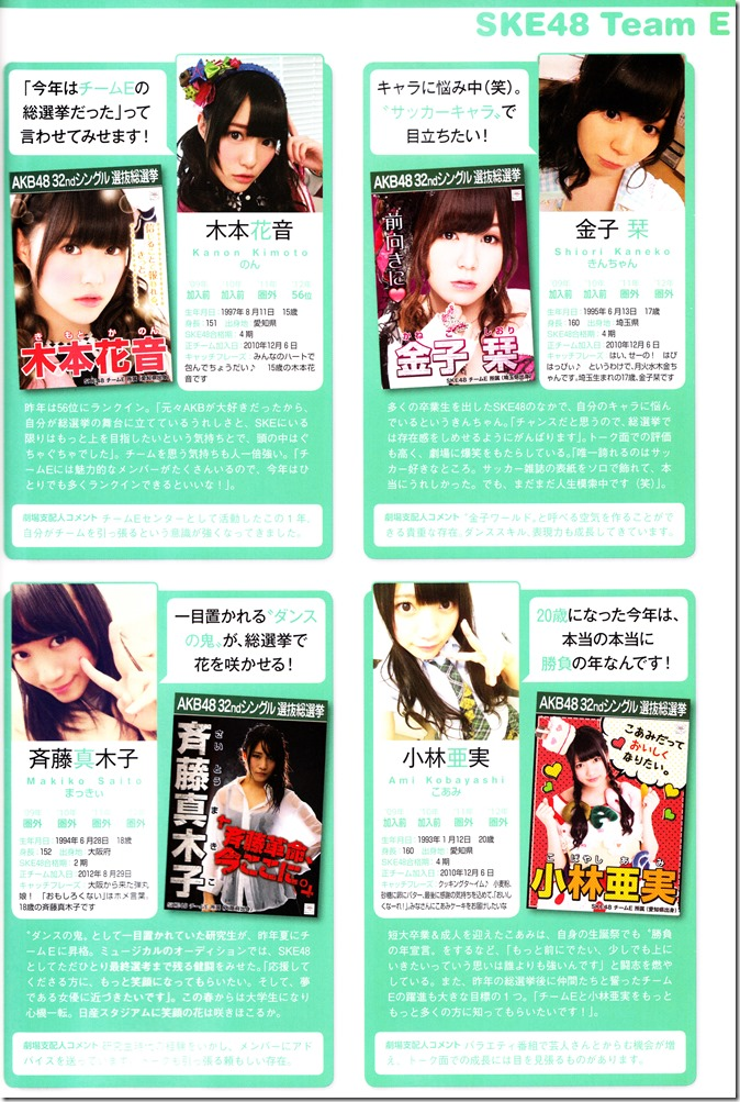 AKB48 Sousenkyo Official Guide Book (95)