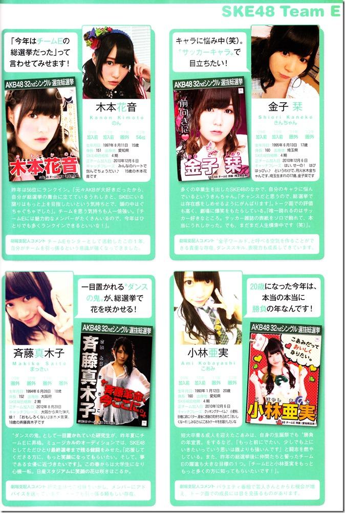 AKB48 Sousenkyo Official Guide Book (95)