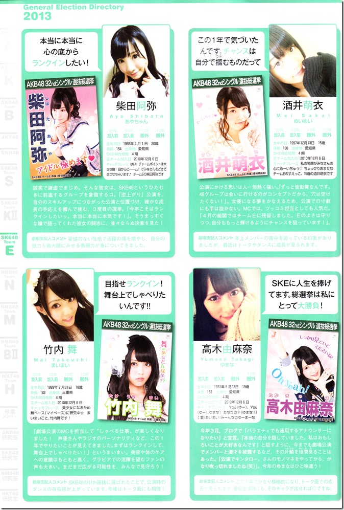 AKB48 Sousenkyo Official Guide Book (96)