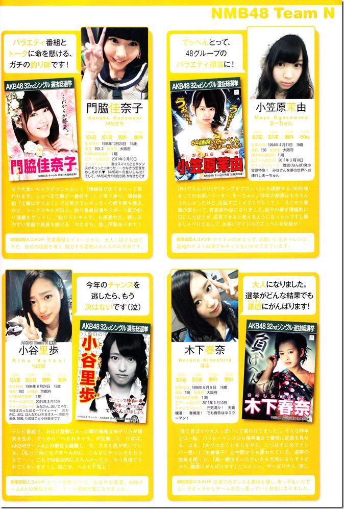 AKB48 Sousenkyo Official Guide Book (99)