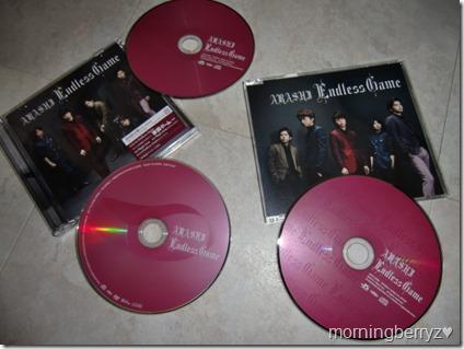ARASHI Endless Game LE & RE CD singles