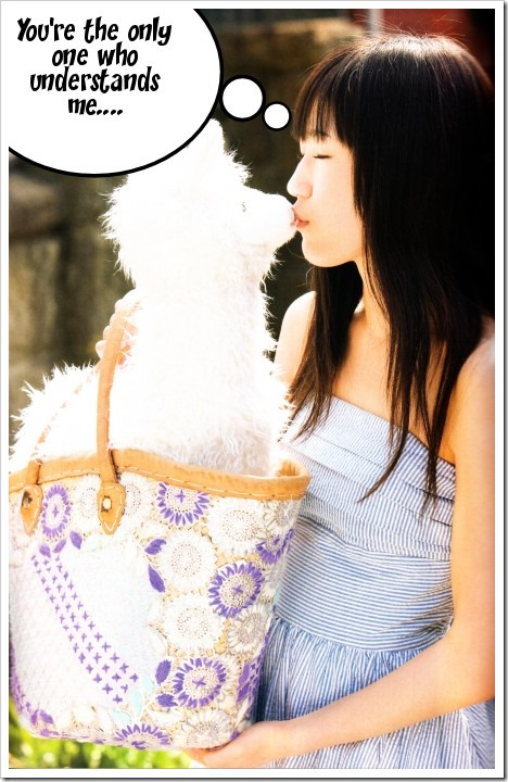 Deep thoughts with Mayuyu♥...
