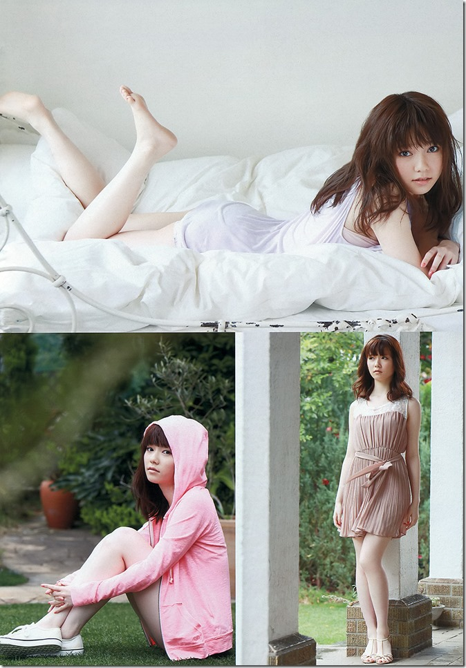 Shimazaki Haruka in Weekly Playboy April 22nd, 2013 (3)