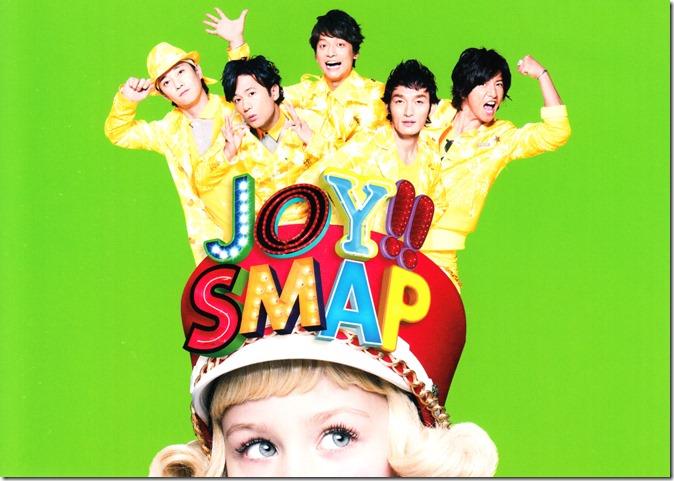Smap Joy!! Lime Green first press post card