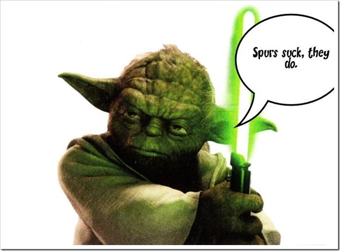 Yoda says