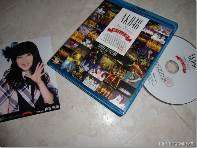 AKB48 in Tokyo Dome 1830m no yume Bluray with first press photo