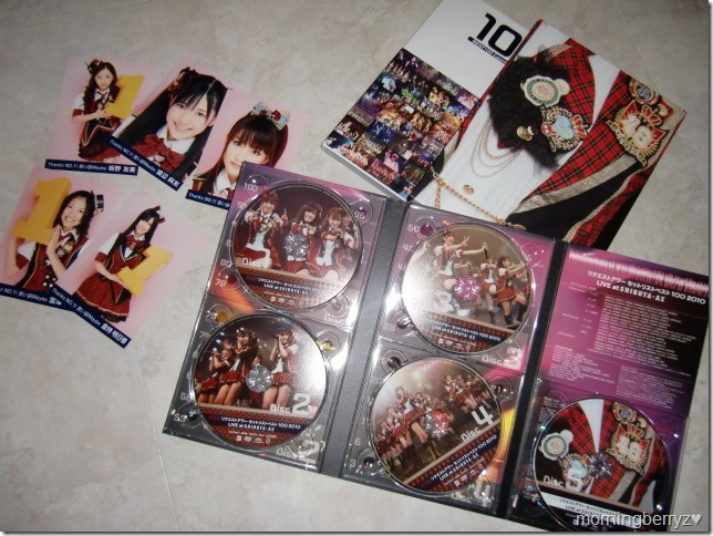AKB48 Request Hour Setlist Best 100 2010 special box set with first press photos