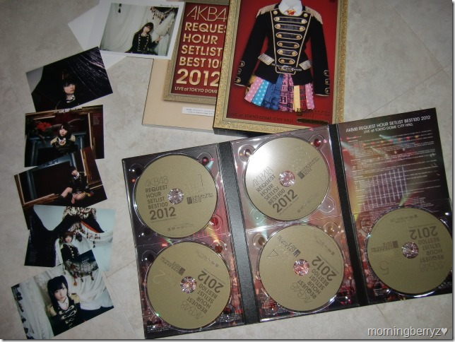AKB48 Request Hour Setlist Best 100 2012 special box set with first press photos and post card