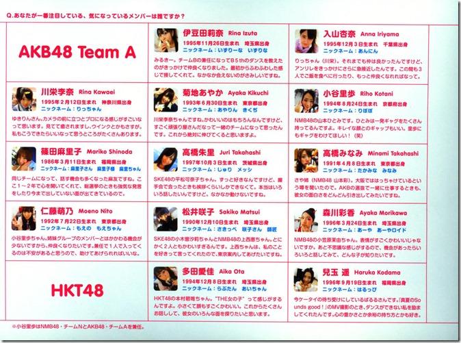 AKB48 The Green Album YU SATSU (167)