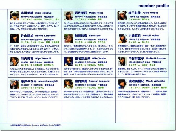 AKB48 The Green Album YU SATSU (172)