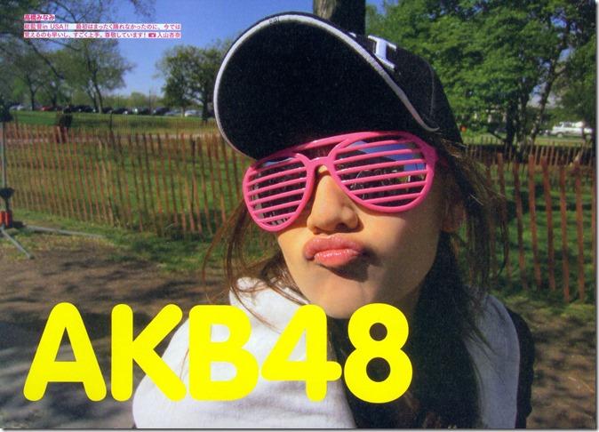AKB48 The Green Album YU SATSU (3)