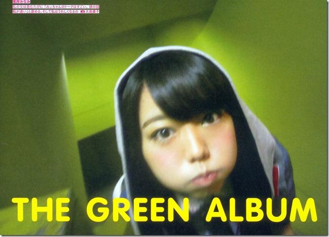 AKB48 The Green Album YU SATSU (5)