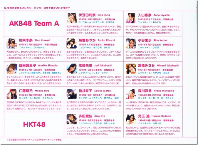 AKB48 The Yellow Album YU SATSU (167)