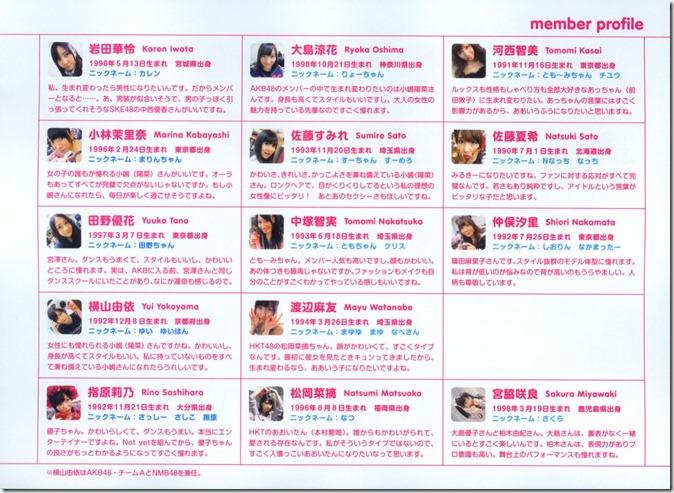 AKB48 The Yellow Album YU SATSU (168)