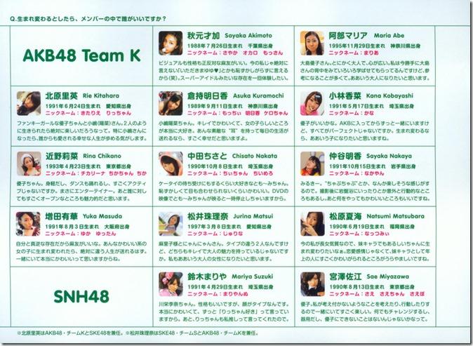 AKB48 The Yellow Album YU SATSU (169)