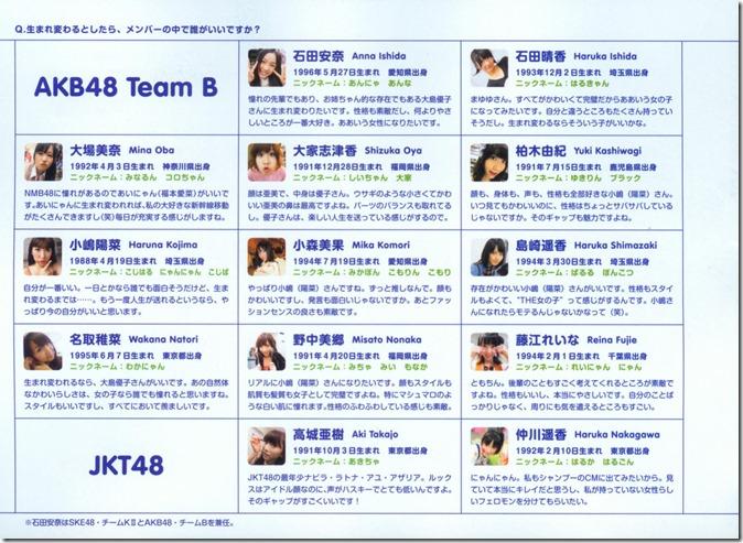 AKB48 The Yellow Album YU SATSU (171)