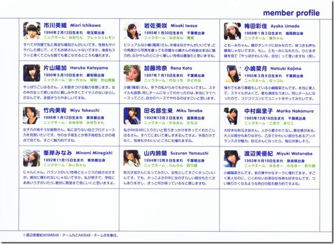 AKB48 The Yellow Album YU SATSU (172)