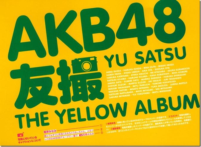 AKB48 The Yellow Album YU SATSU (2)