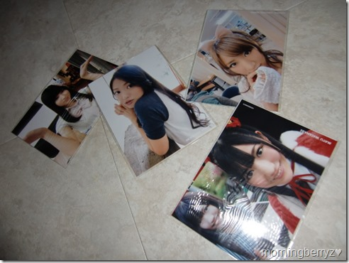 AKB48 The Yellow, Green, Red & Blue Albums first press photo extras