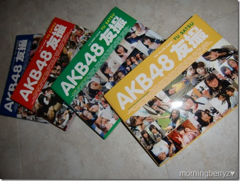 AKB48 The Yellow, Green, Red & Blue albums