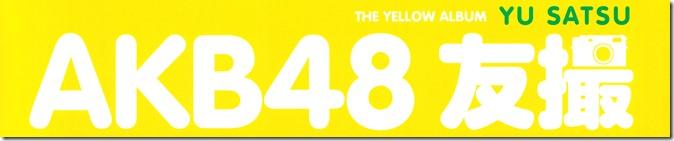 AKB48 YU SATSU The Yellow Album