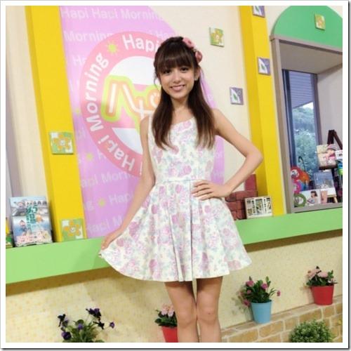 Chinen Sayaka on Hapi Hapi Morning~Hapimo~...