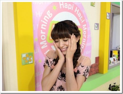 chinen Sayaka on Hapi Hapi Morning~Hapimo~