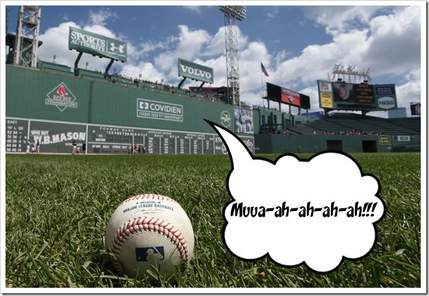 Fenway's Green Monster says..