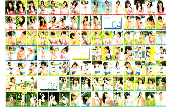 Ishida Karen Photore Vol.8 trading photo card collection (5)